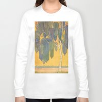 birch Long Sleeve T-shirts featuring Birch 3 by Eugene Frost