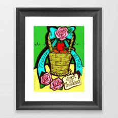 Thank You Much (ever so sincerely.) Framed Art Print