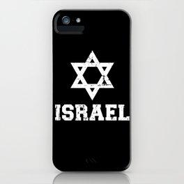 Israel David star iPhone Case