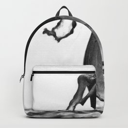 A glass of beer drawing Backpack