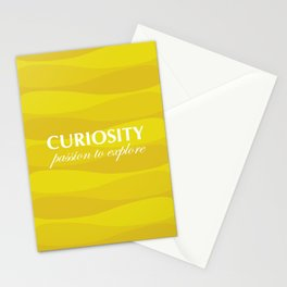 Yellow for Curiosity Stationery Cards