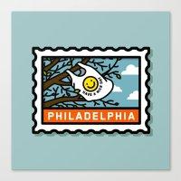philadelphia Canvas Prints featuring Philadelphia by gregchristman
