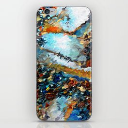 Agate Geode Abstract iPhone Skin