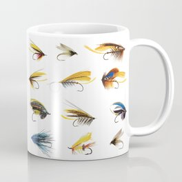 Fly Fishing Flies Coffee Mug