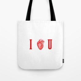 I - Heart - U Tote Bag
