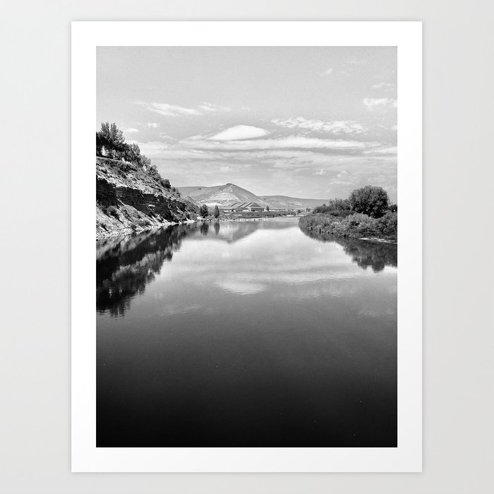 View From The Bridge Art Print