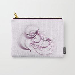 Lavender Swirls Carry-All Pouch