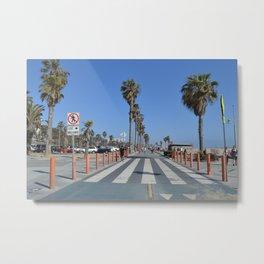 Californian palmtrees Metal Print
