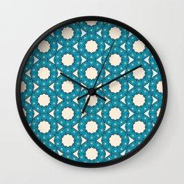 Geometric Pattern Wall Clock