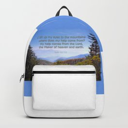 My help comes from the Lord Backpack