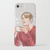 hannibal iPhone & iPod Cases featuring Hannibal by Drag Me To Work