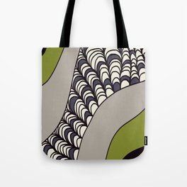 Green Rolled Tote Bag