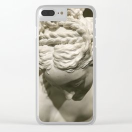 Venus In The Bath at The Louvre Clear iPhone Case