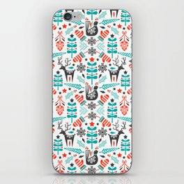 Hygge Holiday iPhone Skin