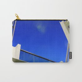 Blue Night Abstract Carry-All Pouch