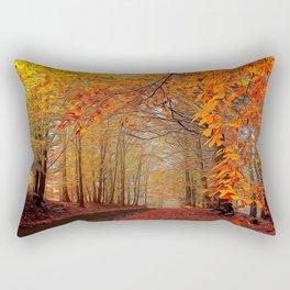 Autumn Parade Rectangular Pillow