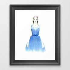 Hanna Framed Art Print