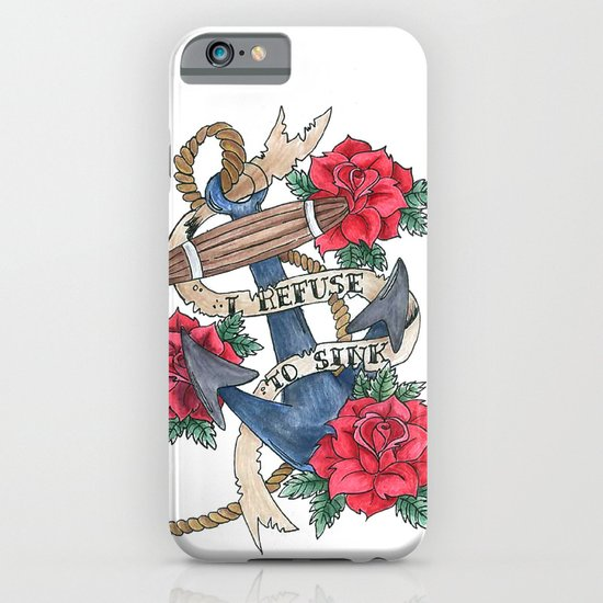 Anchor tattoo flash iphone ipod case by sarah georgi for Tattoo artist iphone cases
