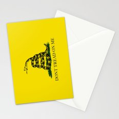 The Gadsden Don't Tread On Me Flag, High Quality Stationery Cards