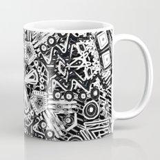 Black and White Doodle Mug