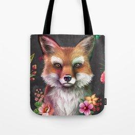 Fox of Spring Tote Bag