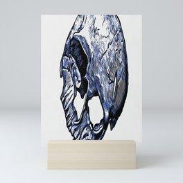 Human Skull Mini Art Print