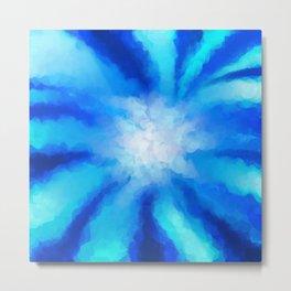 Tropical Sea Flower Metal Print