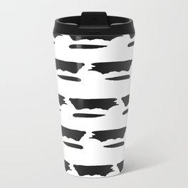 Textured Pattern Travel Mug