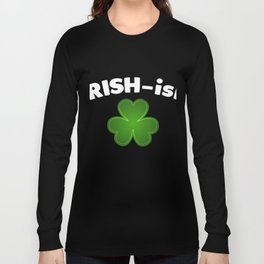 Vintage T-Shirt For Patrick's Day. Long Sleeve T-shirt