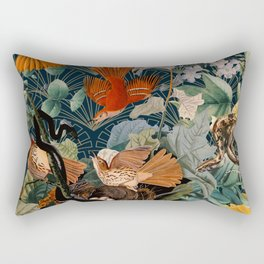 Birds and snakes Rectangular Pillow