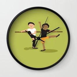 Ballet boys Wall Clock