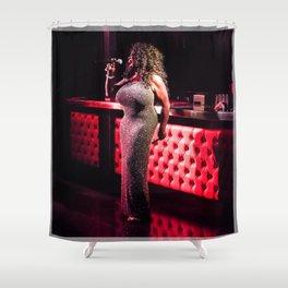 Keisha D LIVE Shower Curtain