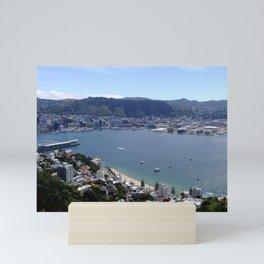 Wellington Waterfront Mini Art Print