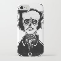 poe iPhone & iPod Cases featuring Poe by Shawn Dubin
