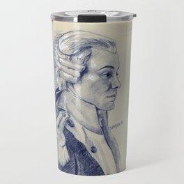 Marquis de Lafayette Travel Mug
