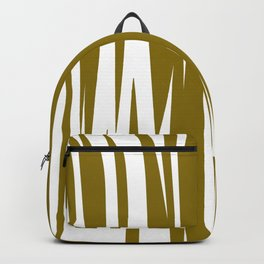 gold lines, wild ethno Elements gold Backpack