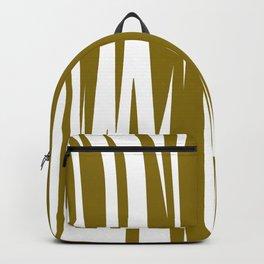 gold lines, wild ethno Elements gold Backpack