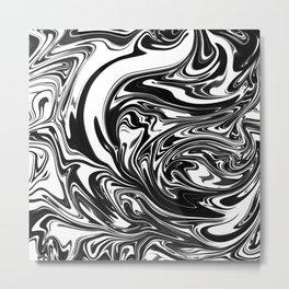 Swirl Metal Print