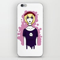 homestuck iPhone & iPod Skins featuring Homestuck Rose by ghostly-fail