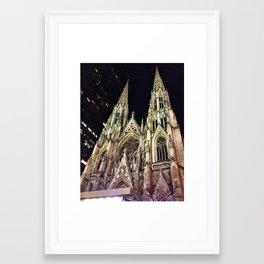 St. Patrick's Cathedral Framed Art Print