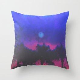 MIDNIGHT RAGE Throw Pillow