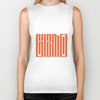 gizmo Biker Tanks featuring gizmo by Smith Reid