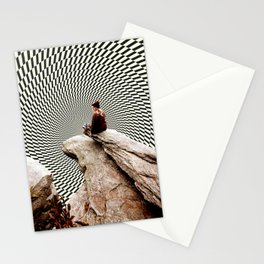 Illusionary Cliff Stationery Cards