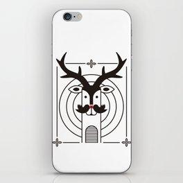 "Deardeer ""Kiss"" iPhone Skin"
