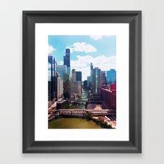 Chicago River View II Framed Art Print