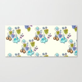 1994 Fruit Wallpaper Canvas Print