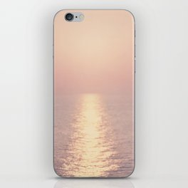 cashmere rose sunset iPhone Skin