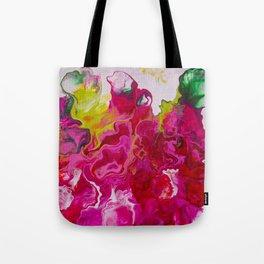 Inviting iris Tote Bag