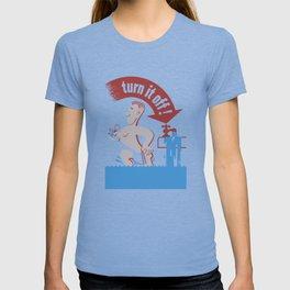 Water - Turn It Off T-shirt