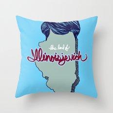 Illinoisjevich Throw Pillow